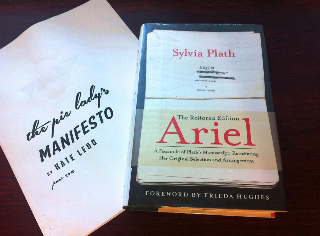 November Book Club Sylvia Plath And Kate Lebo At